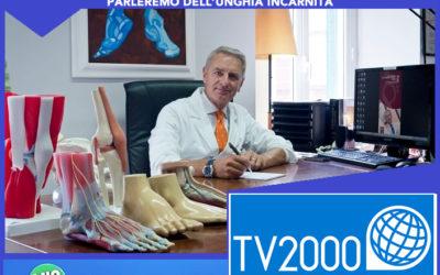 Tv2000 Il mio medico – Unghia incarnita