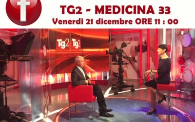 Il prof. Luca Avagnina in diretta Facebook sulla pagina Tg2 – Medicina33